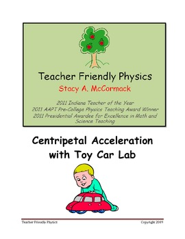 Centripetal Acceleration with Toy Car Lab