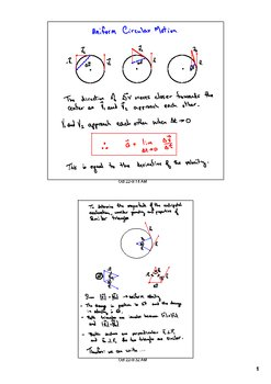 Centripetal acceleration and Force