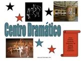 Spanish Language Literacy Center Sign: Centro Dramatico