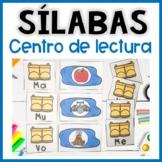 Centro de lectura de sílabas iniciales- Hojas de trabajo español