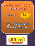 2nd G. High Frequency Words Center (set 2) eng & sp