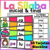 Centro de Aprendizaje - Sílaba Inicial y Final