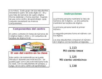 Centro de Matemáticas/Forma escrita