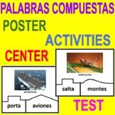 COMPOUND WORDS - PALABRAS COMPUESTAS - Center, Poster, 2 A