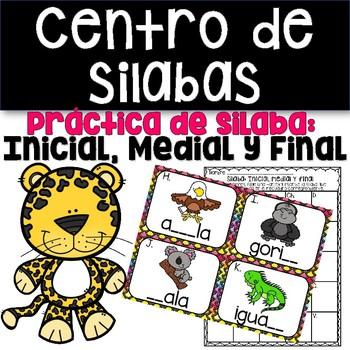 Centro de Silabas Inicial Medial y FInal Centro de Lectura