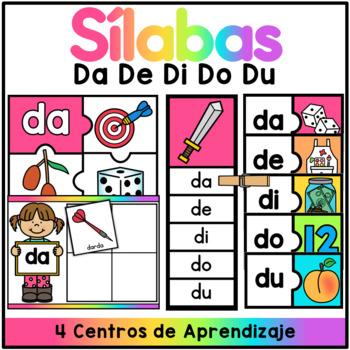 Centro de Silabas - da de di do du / SPANISH CENTER