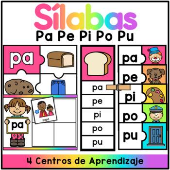 Centro de Silabas - pa pe pi po pu
