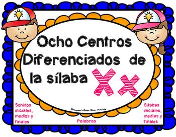 Centro de Sonidos, Silabas  y Palabras de la Xx X x BilingualStars Mrs. Partida