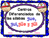 Centro de Silabas y Palabras gue gui güe güi 7 BilingualSt