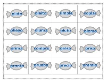 Centro de combinaciones de consonantes. Blending