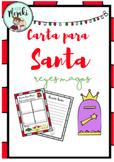 Centro de escritura: Carta para Santa. Carta para Reyes Magos