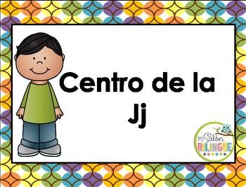 Centro de la Jj