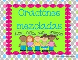 Centro de oraciones mezcladas; Spanish Mixed Up Sentence Center