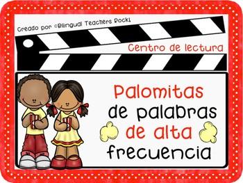 Centro de lectura - Palomitas de palabras