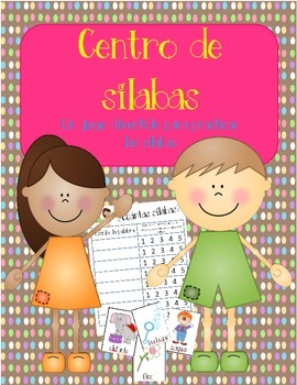 Centro de silabas:  A Spanish Syllables Practice Center