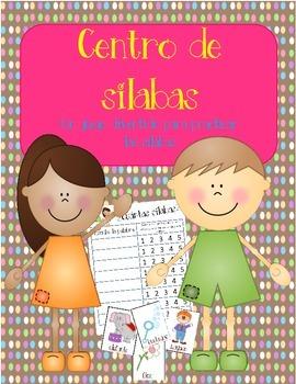 Centro de silabas:  A Spanish Syllables Practice Center