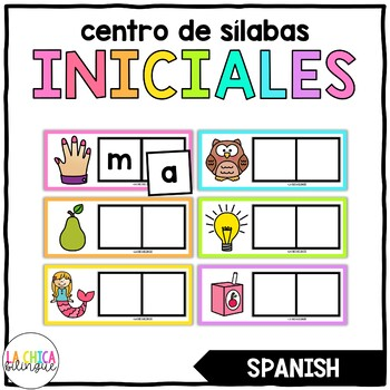 Centro de sílabas iniciales / Spanish Beginning Syllables Center