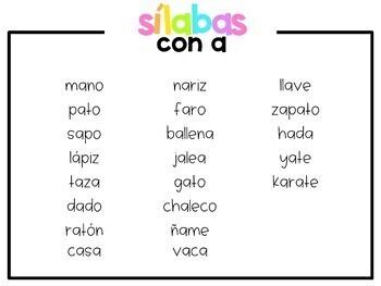 Centro de Sílabas Iniciales (Beginning Syllables Center in Spanish)