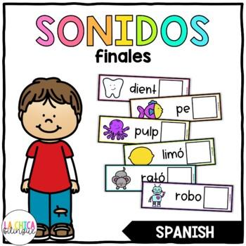Centro de Sonidos Finales (Ending Sounds Center in Spanish)