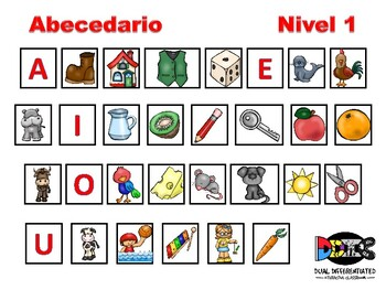 Centro del abecedario