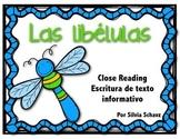 Centro para escribir texto informativo: las libélulas  FREEBIE!!!!!