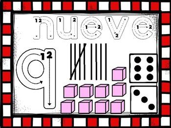 Centro para contar del 1 al 10 con video