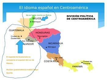Centroamérica y su español: The Spanish of Central America