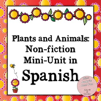 Centros: Plantas y Animales (Plants and Animals: Centers in Spanish)