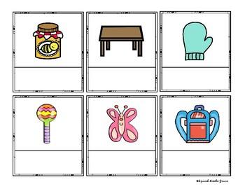 Centros de Aprendizaje Diferenciados Letra Mm Bundle