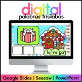 Centros de Diciembre Digital - Palabras con Tres Silabas