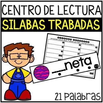 Centros de Lectura: Silabas Trabadas/Literacy Centers