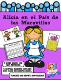 Centros de Matemática en español (Alicia en el País de las Maravillas)