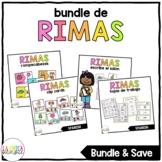 Centros de Rimas (Rhyming Bundle in Spanish)