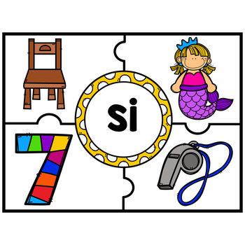 Centros de Silabas - sa se si so su SPANISH SYLLABLES CENTER