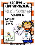 Centros de aprendizaje de sílabas - Escritura silábica 1