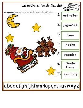 """Centros de aprendizaje en español """"PARA LLEVAR"""" - Orden alfabético"""