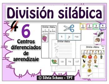 Centros de aprendizaje en español para practicar división