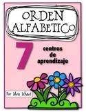 Centros para practicar orden alfabético en cualquier época del año