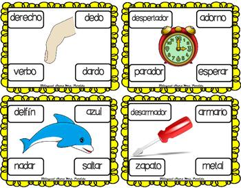 Centros de la letra D d Lectoescritura Sonido Sílabas Centers Dd Mrs.Partida