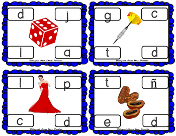 Centros de la letra D d Lectoescritura Sonido Sílabas Dd Alphabet Centers