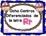 Centros de la letra R r Lectoescritura Sonido Silabas  Rr Alphabet Centers
