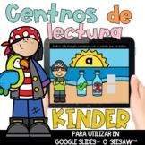 Centros de lectura para kinder DIGITAL