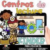 Centros de lectura para kinder DIGITAL Ayudantes de la comunidad