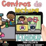Centros de lectura para kinder DIGITAL De compras