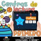 Centros de lectura para primero DIGITAL Espacio