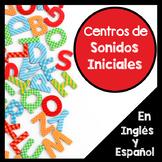 Centros de lenguage: Sonidos iniciales en ingles y espanol