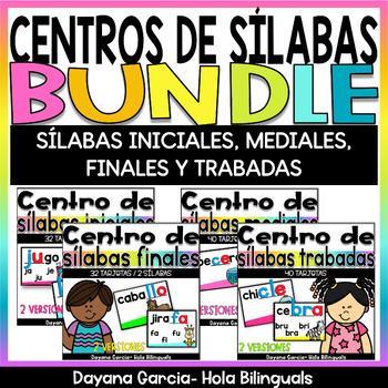 Centros de sílabas BUNDLE