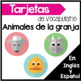Centros de vocabulario: Los animales de la granja en ingle