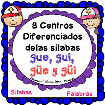 Centros Para Gue Gui Güe Güi Lectoescritura Silabas Spanish Center