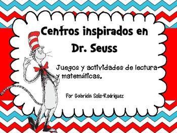 Centros inspirados en Dr. Seuss